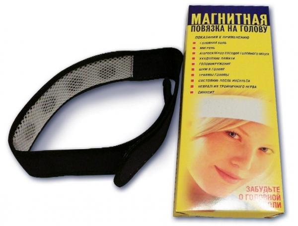 Апликатор Биомаг Магнитная повязка на голову