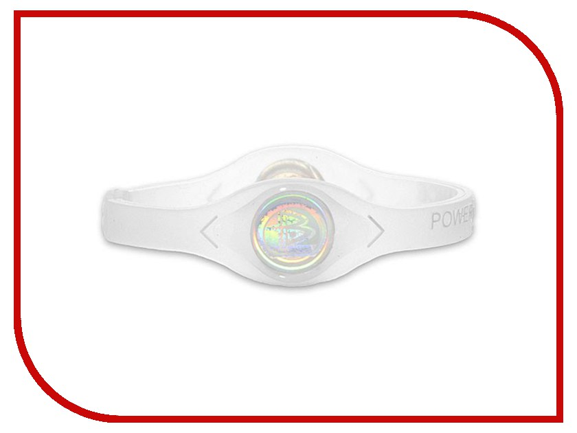 Браслет POWER BALANCE XS White Hologram Clear/White 100% original<br>