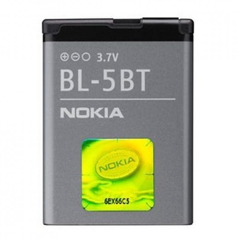 Аксессуар Аккумулятор Nokia BL-5BT 870 mAh