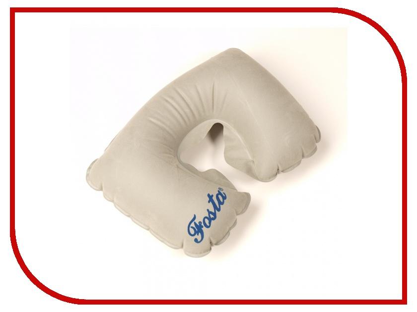 Ортопедическая подушка Fosta F-8051 Grey - надувная с вырезом под голову