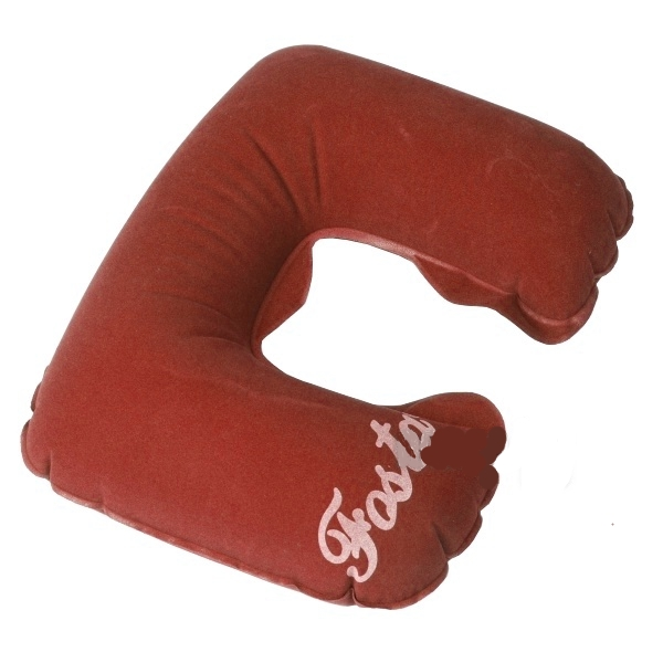 Ортопедическое изделие Fosta F-8052 Red - подушка надувная с вырезом под голову<br>