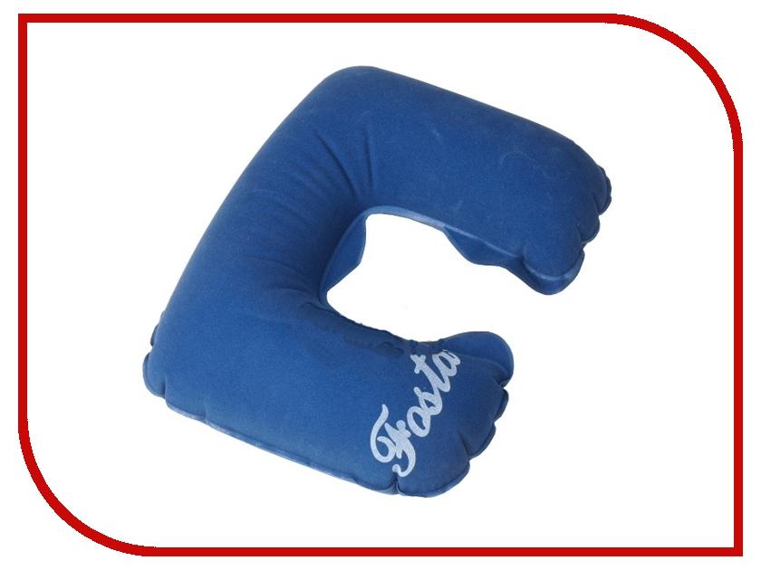 Ортопедическая подушка Fosta F-8052 Blue - надувная с вырезом под голову