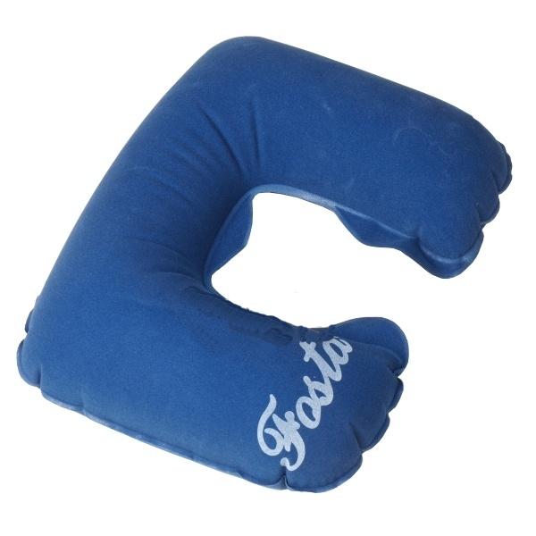 Подушка Fosta F-8052 Blue - надувная с вырезом под голову
