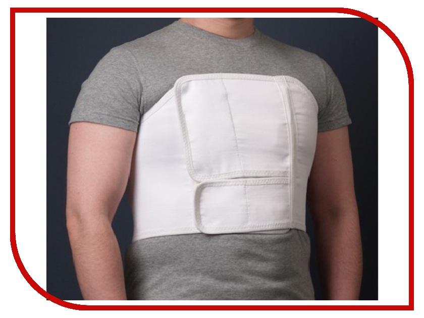 Ортопедическое изделие КОМФ-ОРТ К-619 - пояс послеоперационный, грудно-брюшной, мужской, №4 80-100см