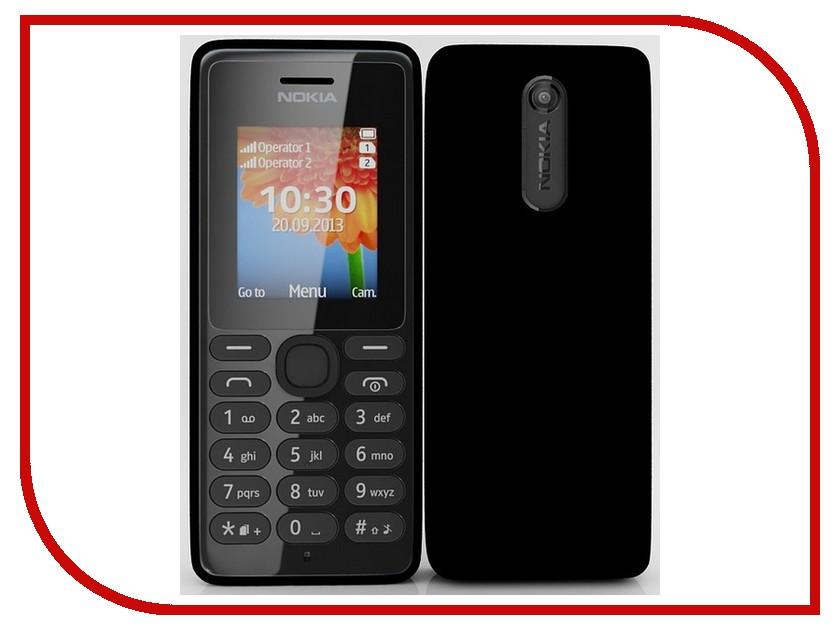 Сотовый телефон Nokia 108 Dual SIM Black