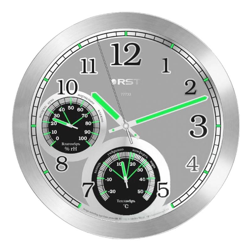 Часы RST 77733 часы настенные rst 77745