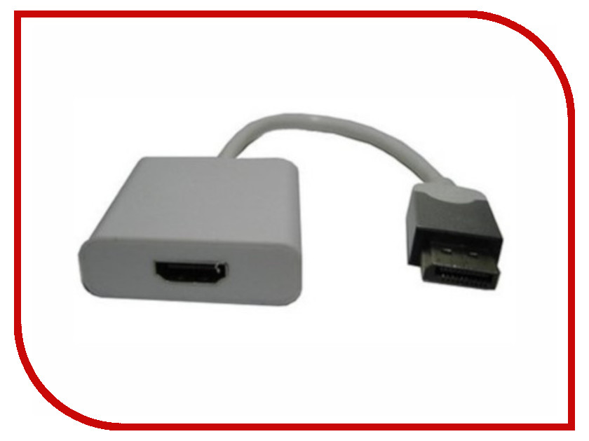 Аксессуар Espada Display Port M to HDMI F 20cm EPortM-HDMI F20 single port female to female jumper wire set 50 pack 20cm length