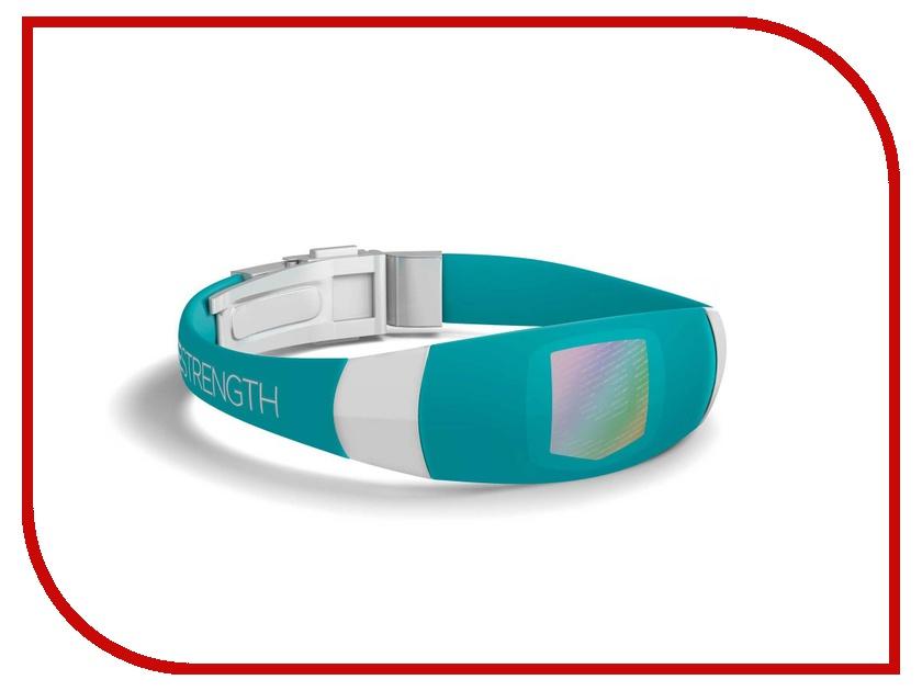 Браслет Lifestrength/Purestrength Elite LG Turquoise/White