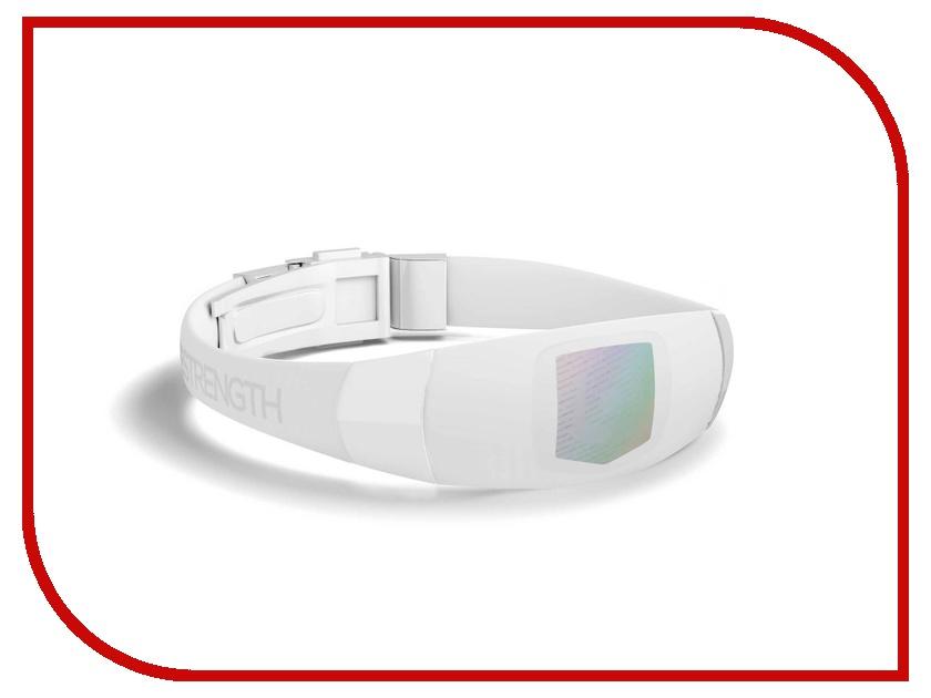 Браслет Lifestrength/Purestrength Elite SM White/Grey браслет lifestrength purestrength pure md white grey