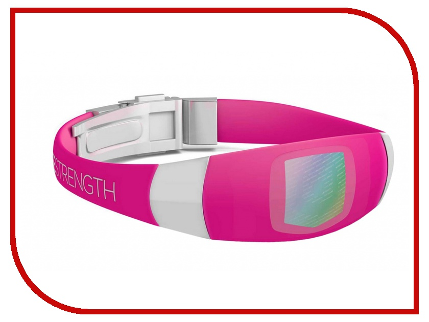 Браслет Lifestrength/Purestrength Elite MD Pink/White