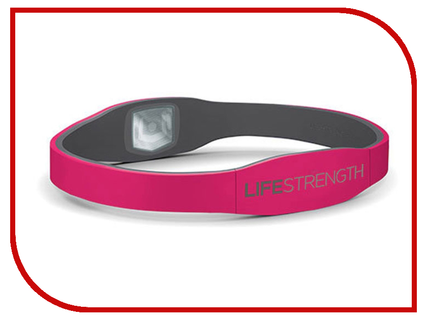 Браслет Lifestrength/Purestrength Pure XS Pink/Grey<br>