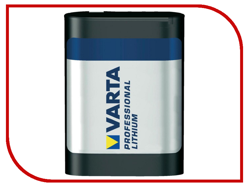 Батарейка 2CR5 Varta Professional Lithium 06203 (1 штука) батарейка varta 317 01862