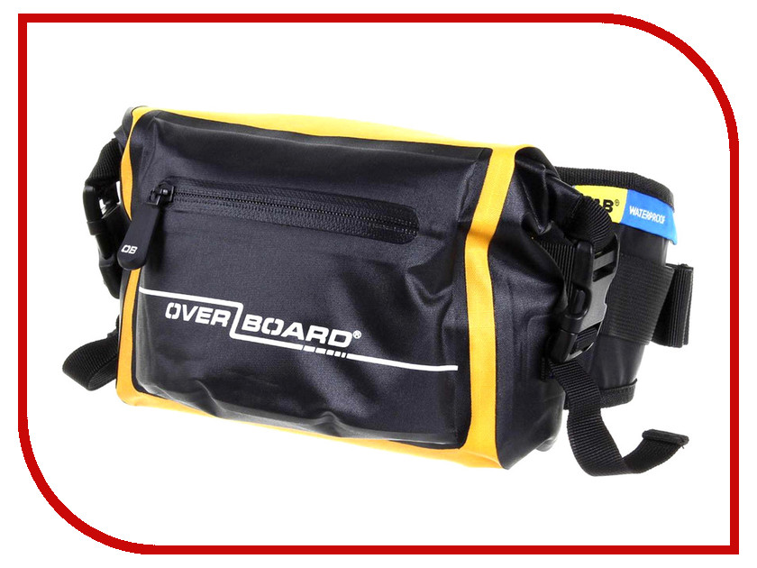 OverBoard Waterproof Waist Pack 3 Litres OB1049Y