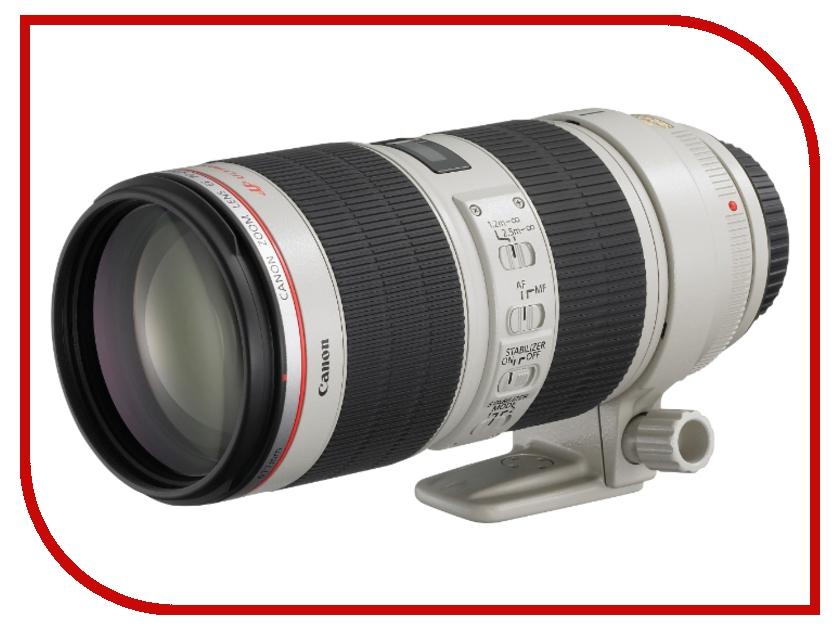 Объектив Canon EF 70-200 mm F/2.8 L USM объектив премиум canon ef17 40 f 4 0l usm