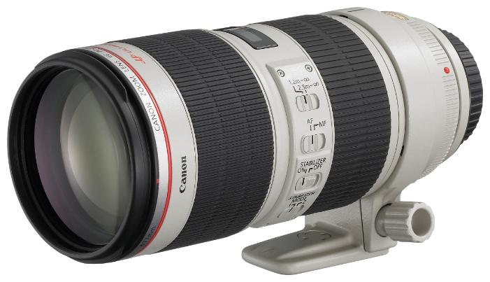 Фото - Объектив Canon EF 70-200 mm F/2.8 L USM объектив