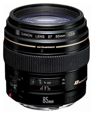 Объектив Canon EF 85 mm F/1.8 USM объектив canon ef 70 200mm f 2 8l is iii usm