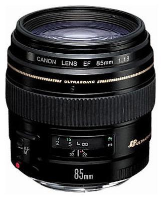 Фото - Объектив Canon EF 85 mm F/1.8 USM объектив canon ef 16 35mm f 2 8l iii usm черный