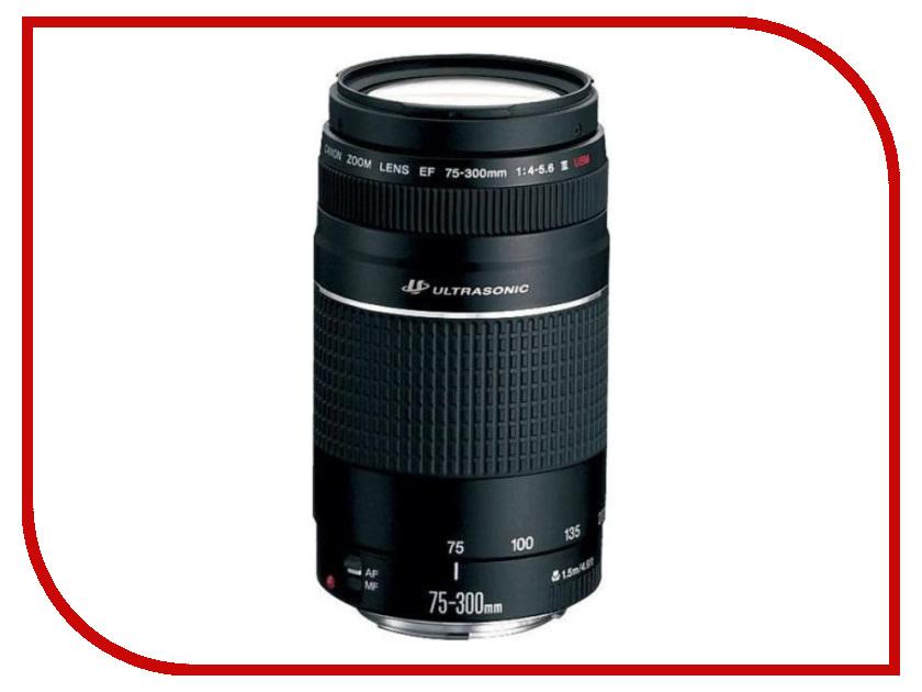Объектив Canon EF 75-300 f/4-5.6 III USM объектив canon ef iii usm 6472a012