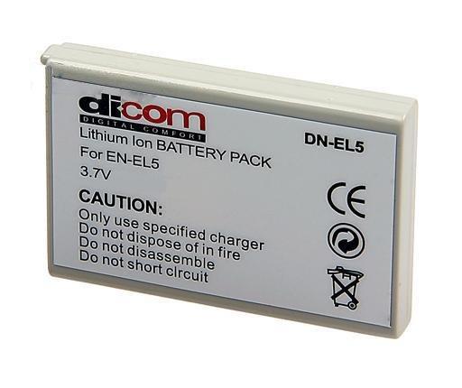 Аккумулятор Dicom DN-EL5