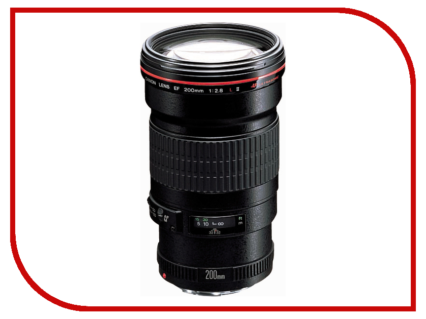 Объектив Canon EF 200 f/2.8L II USM