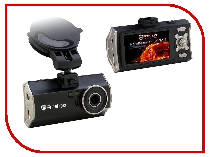 Видеорегистратор Prestigio RoadRunner 530 A5 GPS