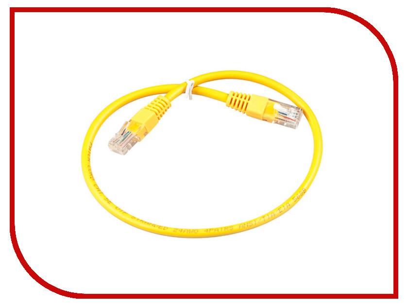 Сетевой кабель ExeGate UTP cat.5e 0.5m Yellow