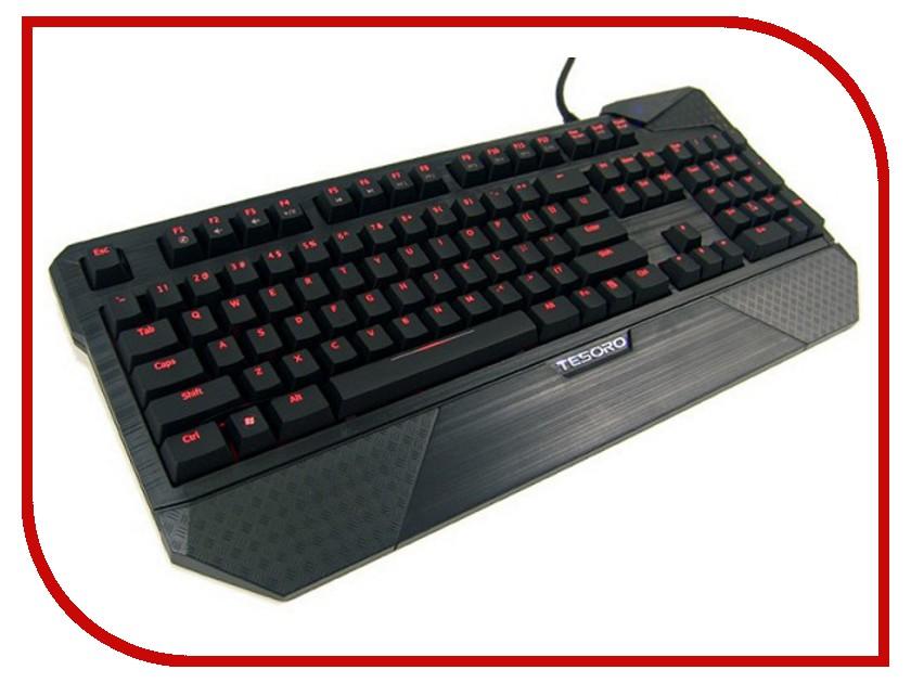 Клавиатура Tesoro Durandal Ultimate TS-G1NL Red