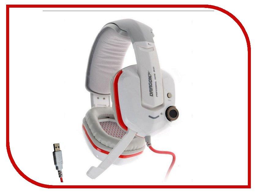 Гарнитура Qcyber Dragon GH9000 White QC-01-002DV06гарнитуры<br><br>