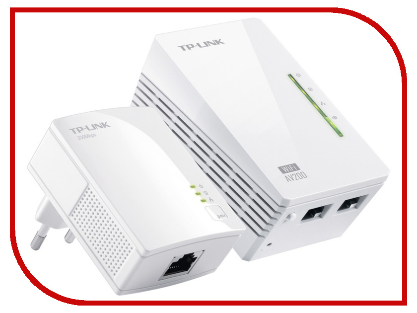Powerline адаптер TP-LINK TL-WPA2220KIT<br>