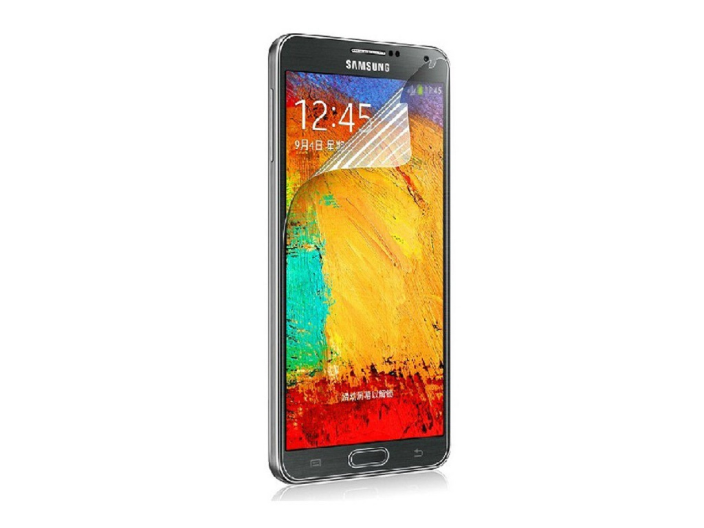 Аксессуар Защитная пленка Samsung GT-N9000 Galaxy Note 3 Ainy глянцевая от Pleer