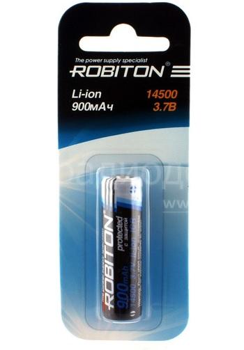 Аккумулятор AA - Robiton 14500 3.7V 900mAh 11321