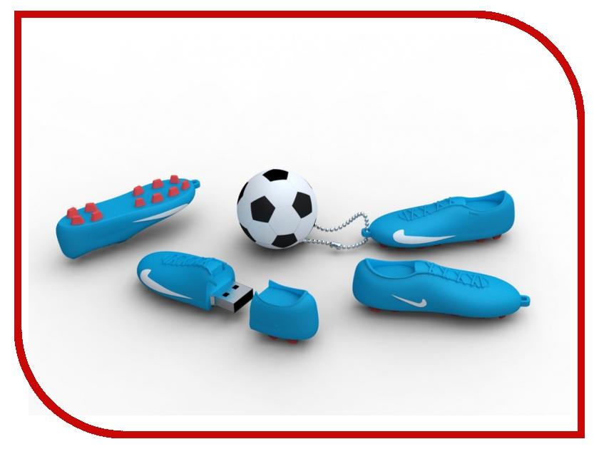 USB Flash Drive 16Gb - Iconik Футбол Blue-White RB-FTBBW-16GB<br>