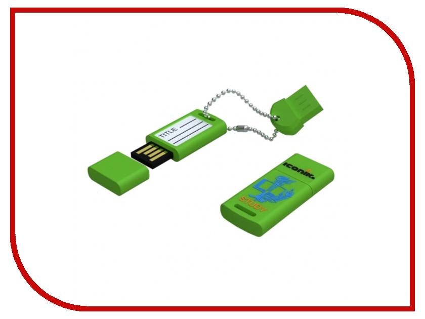 USB Flash Drive 8Gb - Iconik Для Учебы RB-STUDY-8GB<br>