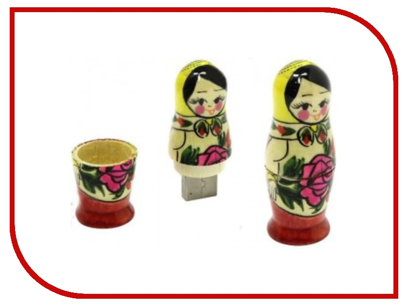 USB Flash Drive 8Gb - Iconik Русская Матрешка RB-RDOLL-8GB<br>