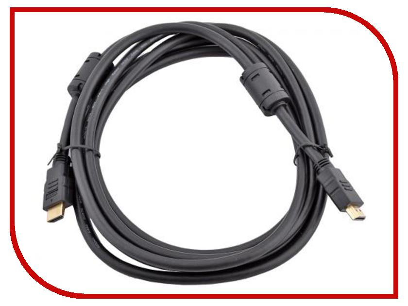 Аксессуар AOpen HDMI M / HDMI M+2 V1.4 3D 3m ACG511D-3M<br>