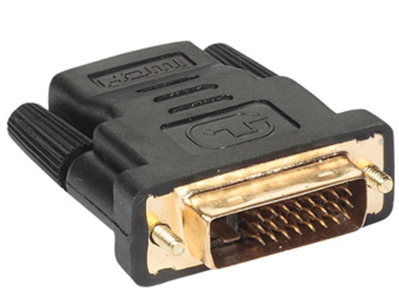 Аксессуар VCOM HDMI 19F to DVI-D 25M VAD7818