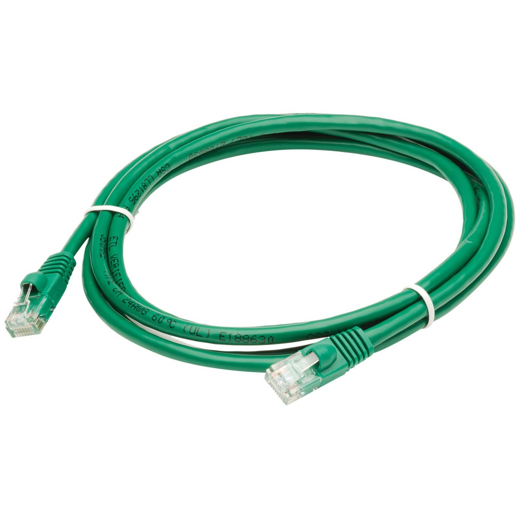 Аксессуар Telecom UTP CAT-5e Green 1m