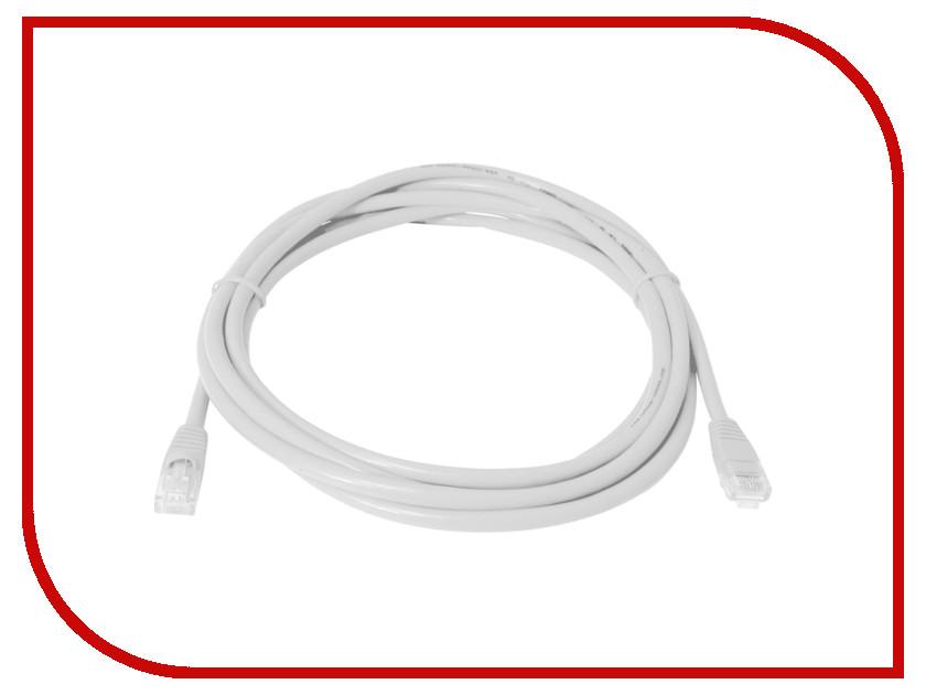 Сетевой кабель Telecom UTP cat.5e 10m Grey кабель telecom sftp 5e кат