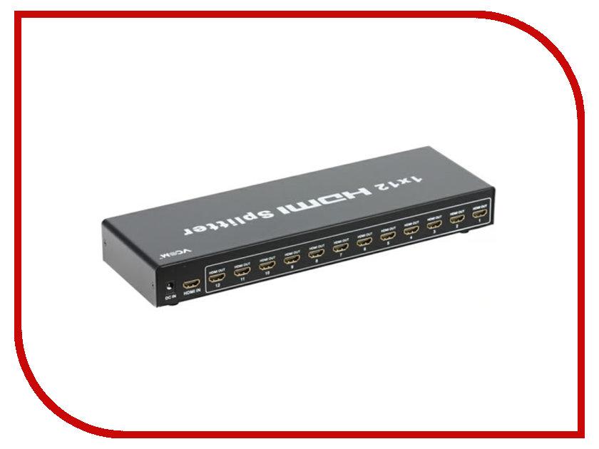 Аксессуар VCOM HDMI Splitter 1x12 3D Full-HD Ver1.4 DD4112<br>