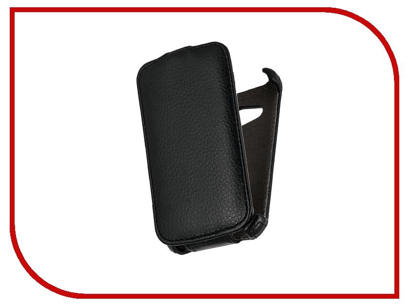 Аксессуар Чехол HTC Desire 200 Aksberry / Gecko / iBox Premium Black