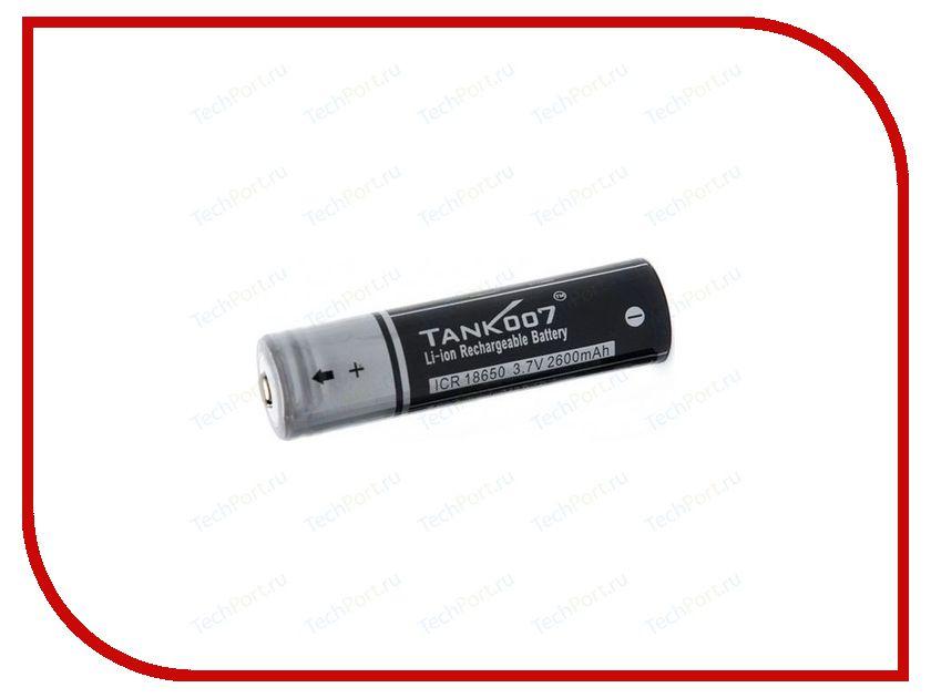Аккумулятор Tank007 18650-007 3.7V 2600 mAh сушилка ротор дива сш 007 06