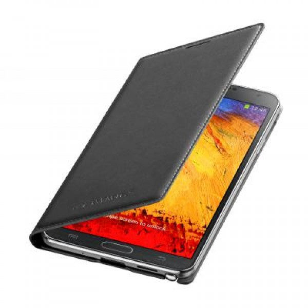 Аксессуар Чехол Samsung GT-N9000 Galaxy Note III Flip Wallet EF-WN900BBEGRU Black от Pleer
