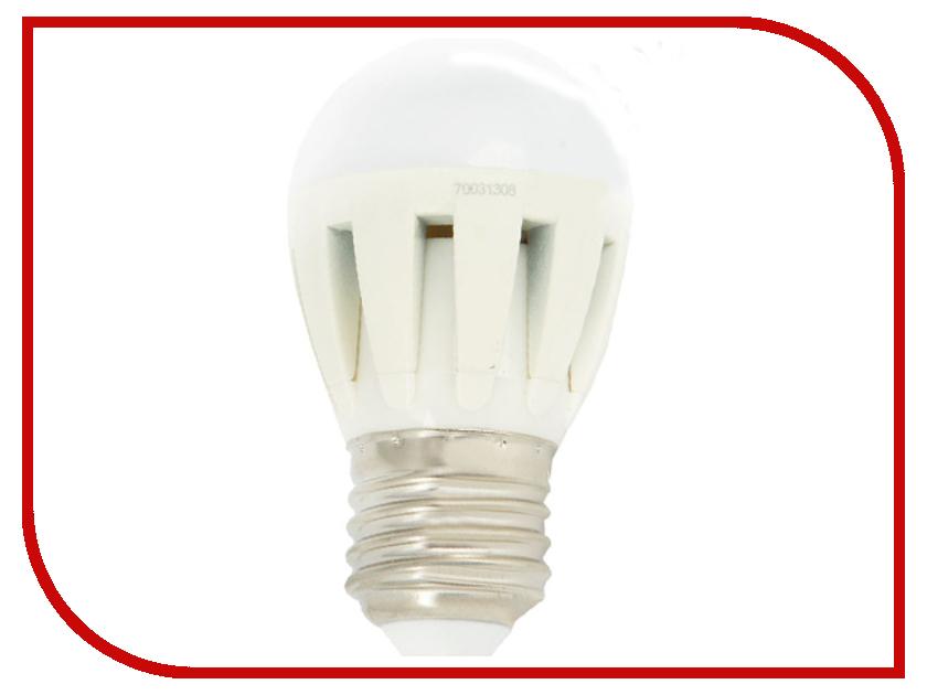 Лампочка Camelion G45 5.5W 220V E27 3000K 475 Lm LED5.5-G45/830/E27