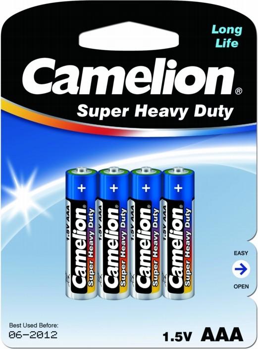 Батарейка AAA - Camelion Blue R03 R03P-BP4B (4 штуки)