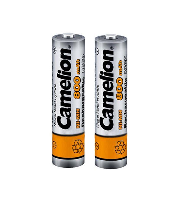 Аккумулятор AAA - Camelion NH-AAA800BP2 800 mAh Ni-MH (2 штуки) от Pleer