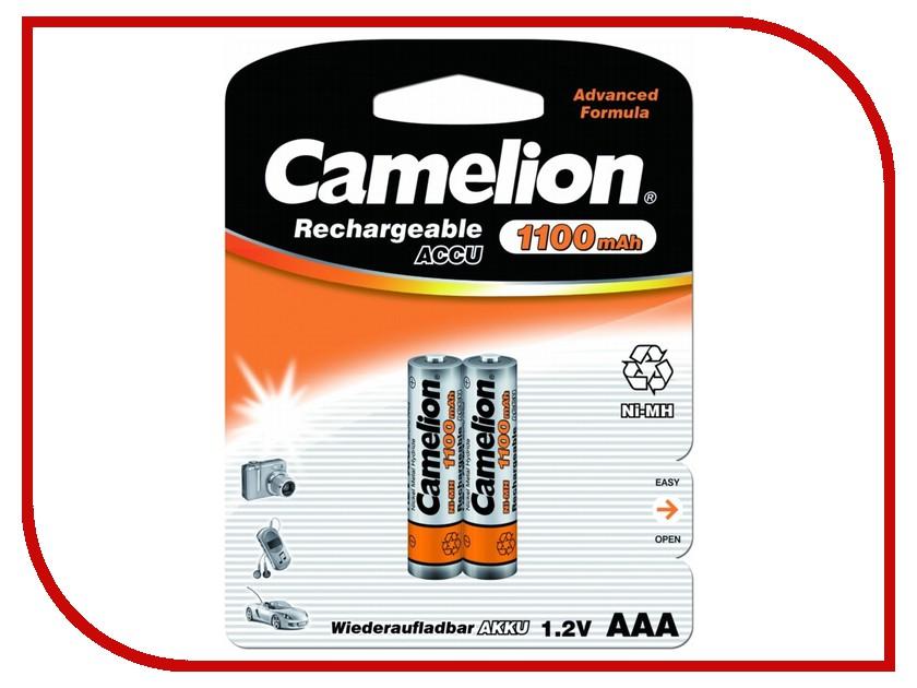 Аккумулятор AAA - Camelion NH-AAA1100BP2 1100 mAh Ni-MH (2 штуки)<br>