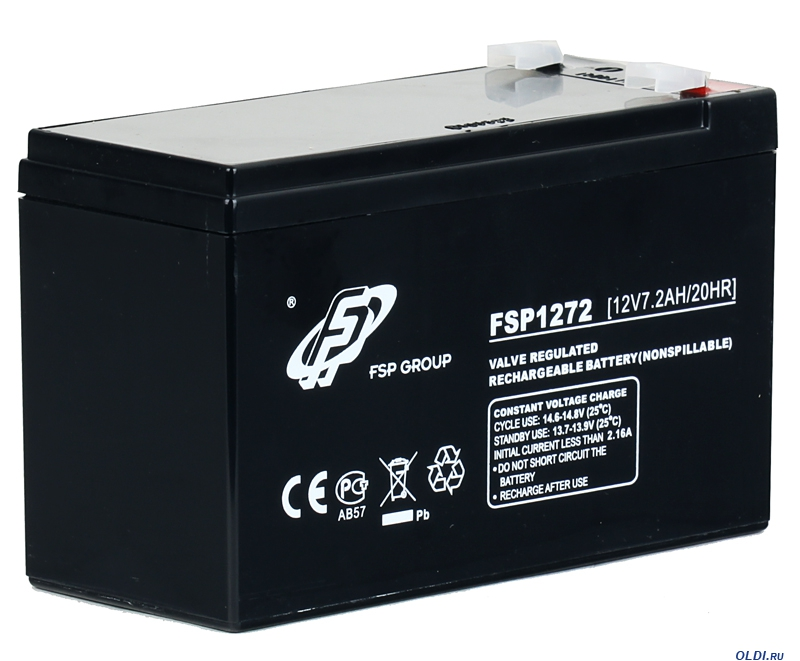 Аккумулятор для ИБП FSP 12V 7Ah