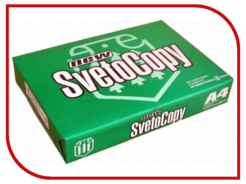 Бумага Светогорск SvetoCopy A4 80г/м2 500 листов 146CIE<br>