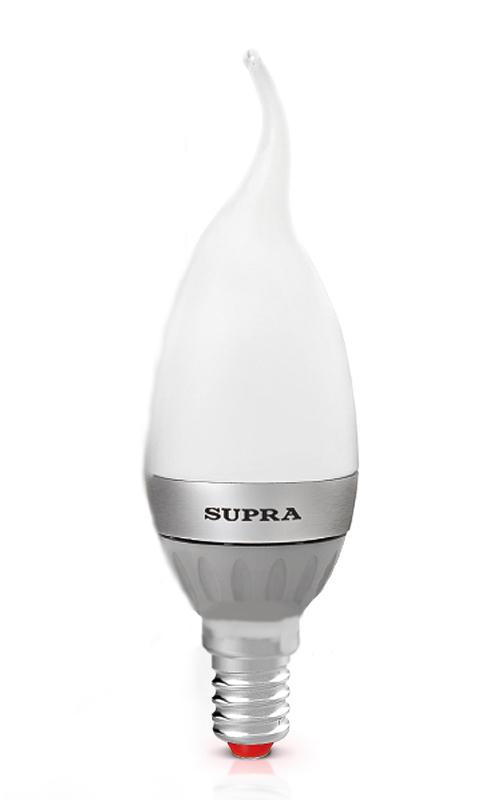 Лампочка SUPRA SL-LED-PR-CNW-4W/3000/E14