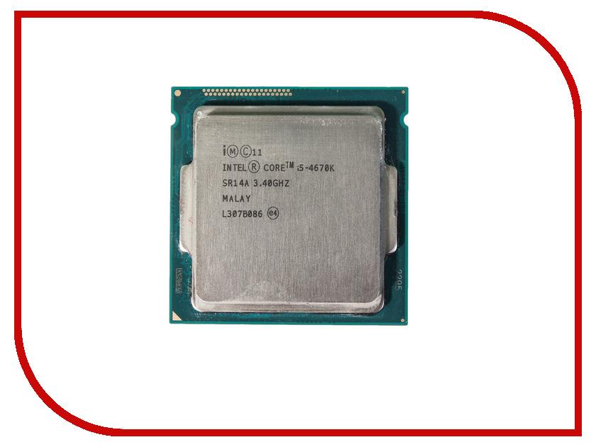 Процессор Intel Core i5-4670K Haswell (3400MHz/LGA1150/L3 6144Kb)
